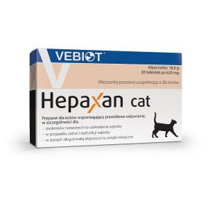 Hepaxan cat 30 tabletek