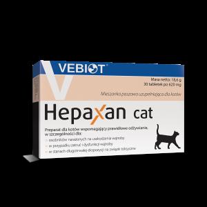 Hepaxan cat 30 tabletek