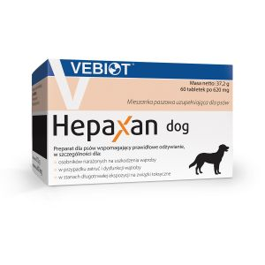 Hepaxan dog 60 tabletek