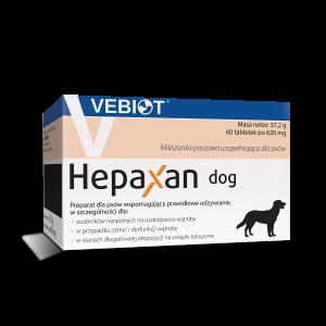 Hepaxan dog 60 tabletek