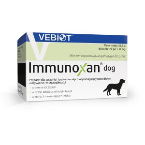 Immunoxan dog 60 tabletek