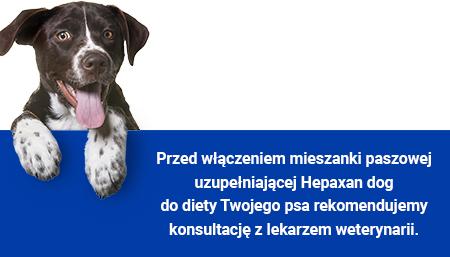 Hepaxan dog
